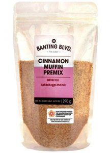 Banting Blvd Cinnamon Muffin Premix faithful to nature