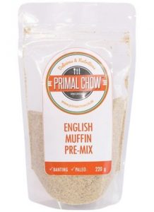 Primal Chow Banting Paleo English Muffin Premix faithful to nature
